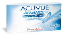 Acuvue Advance contact lenses